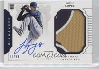 Rookie Materials Signatures - Jorge Lopez /99
