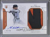 Rookie Materials Signatures - Mac Williamson #/99
