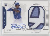 Rookie Materials Signatures - Raul A. Mondesi /99