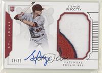Rookie Materials Signatures - Stephen Piscotty #/99