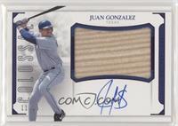 Juan Gonzalez [Noted] #/15