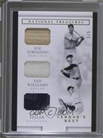 Bob Feller, Joe DiMaggio, Ted Williams /5