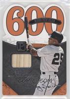 600 Home Runs - Barry Bonds #/199