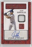 Juan Gonzalez [EX to NM] #/199