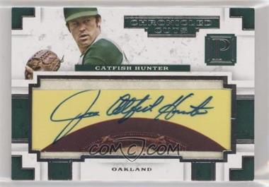 2016 Panini Pantheon - Chronicled Cuts #CCS-CH - Catfish Hunter /5