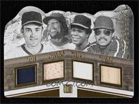 Nolan Ryan, Reggie Jackson, Rod Carew, Vladimir Guerrero #/25
