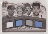 Mariano Rivera, Rollie Fingers, Bruce Sutter, Dennis Eckersley #/99