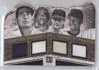 Ted Williams, Jim Rice, Carl Yastrzemski, Pedro Martinez #/99
