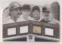 Ivan Rodriguez, Juan Gonzalez, Nolan Ryan, Rafael Palmeiro /99