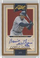 Base VI Autographs - Bernie Williams /5