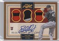 Base IX Autographs - Brian Ellington /25