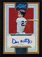 Base VI Autographs - Don Mattingly #/1
