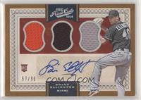 Base IX Autographs - Brian Ellington /99