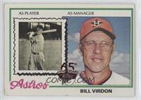 Bill Virdon [GoodtoVG‑EX]