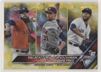 Dallas Keuchel, Collin McHugh, David Price #/5