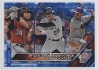 Nolan Arenado, Bryce Harper, Carlos Gonzalez #/250