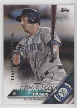 2016 Topps - [Base] - Limited Edition #39 - Mark Trumbo