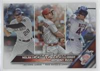 Paul Goldschmidt, Anthony Rizzo, Nolan Arenado