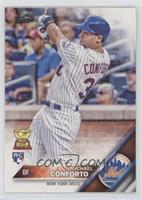 Michael Conforto (Batting; White Jersey)