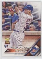 Michael Conforto (Batting; White Jersey)