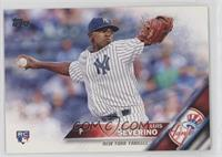Luis Severino (White Jersey; Horizontal Design)
