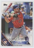 Jose Altuve (Batting) [EX to NM]