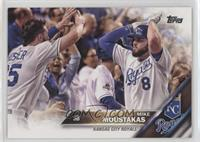 Mike Moustakas (White Jersey)