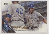 Mike Moustakas (Gray Jerey)