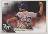 Wily Peralta (Jackie Robinson Jersey)