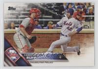 Cameron Rupp (Mets Player Sliding)