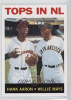 Hank Aaron, Willie Mays