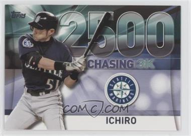 2016 Topps - Chasing 3000 #3000-25 - Ichiro Suzuki