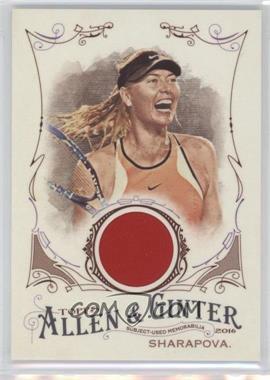 2016 Topps Allen & Ginter's - Relics B #FSRB-MSH - Maria Sharapova