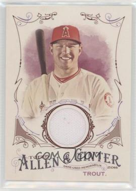 2016 Topps Allen & Ginter's - Relics B #FSRB-MTR - Mike Trout