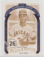 Billy Williams [Noted] #/10