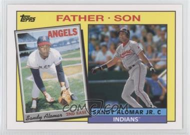 2016 Topps Archives - 1985 Father/Son Recreate #FS-AL - Sandy Alomar Jr., Sandy Alomar Sr.