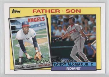 2016 Topps Archives - 1985 Father/Son Recreate #FS-AL - Sandy Alomar Jr., Sandy Alomar Sr.
