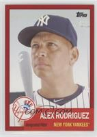 1953 Design - Alex Rodriguez /50
