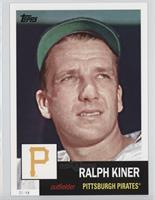 1953 Design - Ralph Kiner #/49