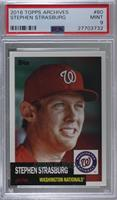 1953 Design - Stephen Strasburg [PSA 9 MINT]