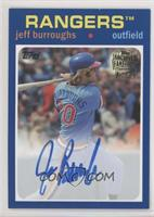1971 Design - Jeff Burroughs [EX to NM] #/199