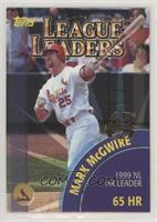 Mark McGwire, Ken Griffey Jr. (2000 Topps League Leaders)