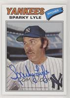 Sparky Lyle /25