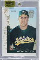 Mark Mulder (2000 Topps Gallery) /30 [ENCASED]