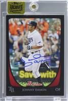 Johnny Damon (2011 Bowman) [Buy Back] #/11