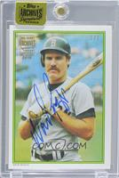 Wade Boggs (1986 Topps Glossy All-Stars) /1 [ENCASED]