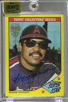 Reggie Jackson (1986 Topps Woolworth Super Star) /2 [ENCASED]