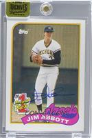 Jim Abbott (1989 Topps) /146 [ENCASED]