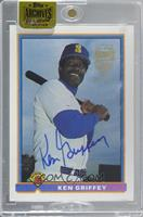 Ken Griffey (1991 Bowman) [Buy Back] #/11