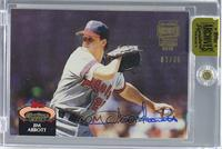 Jim Abbott (1992 Stadium Club) /36 [ENCASED]
